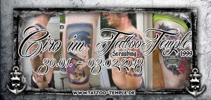 Ciro im Tattoo Temple Straubing